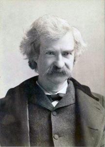 Mark Twain in Middle Life - ID: 100708 - NYPL Digital Gallery